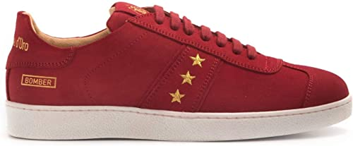 PANTOFOLA D'oro - PDO Bomber Limited Edition rojo Turnzapatos - BBL1WU13 Bomber Low