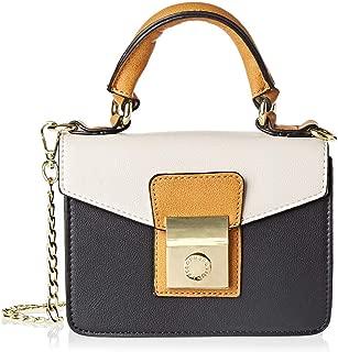 BCBG Raphaela Mustard Satchels Bag for Women - Multi Color