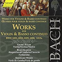Bach:Works for Violin/Basso Co