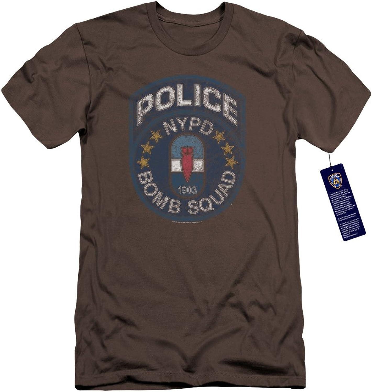 New York City  Mens Bomb Squad Premium Slim Fit TShirt