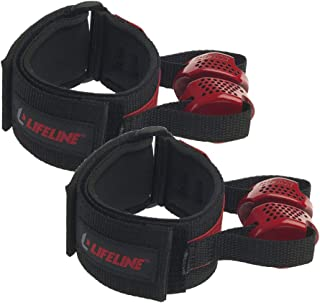 Lifeline Fitness Ankle and Wrist Attachments for Exercise Resistance Cables to Isolate and Target Muscle Groups