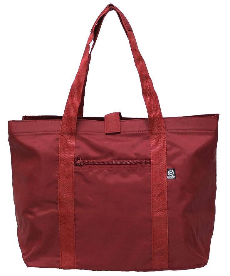 基本的な物理学者富優美社 エコバッグ レジカゴバッグ 巾着タイプ 30L 赤 #3483-01