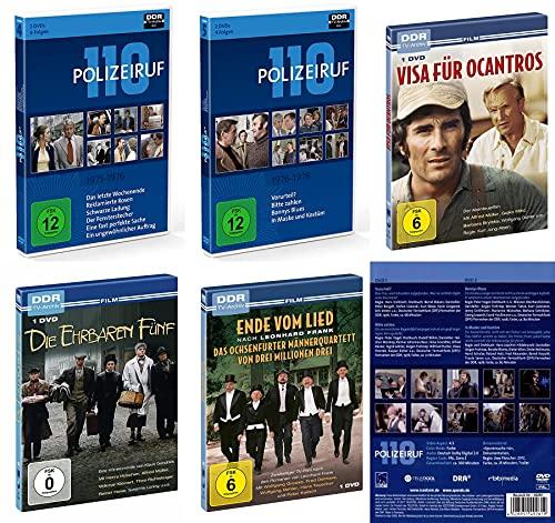 10 Defa Polizeiruf 110 Klassiker 1975 – 1978 + 3 Bonus Krimis DDR TV- Archiv 7 DVD Limited Edition