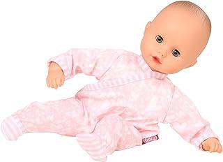 Götz 1620518 Muffin Summertime Puppe - Sommerzeit - 33 cm große Babypuppe mit blauen Schlafaugen, ohne Haare und Weichkörper - ab 18 Monaten