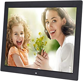 Digital Picture Frame, 19 Inch Digital Photo Frame LED Display 1366 * 768(16:9) High Resolution Photo,Music,HD Video Playe...