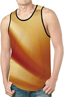 Murder Scene New All Over Print Tank Top,Yellow Tapes Do Not Cross Cordoned Off Area Forensic Science Warning for Home,S