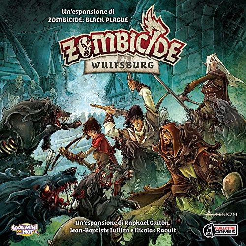 Asmodee - Zombicide Black Plague: Wulfsburg, expansión de Juego de Mesa, edición en Italiano, 8436
