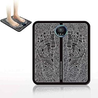 QingH yy EMS Massager Tape Massager Tape DE RESHAPER Pieds MASTAGER Machine USB Le Tapis de Massage électrique Rechargeabl...