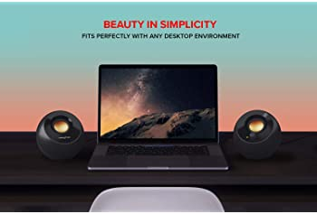 Creative Pebble Plus 2.1 USB-Powered Desktop Speakers with Powerful Down-Firing Subwoofer and Far-Field Drivers, Up t...