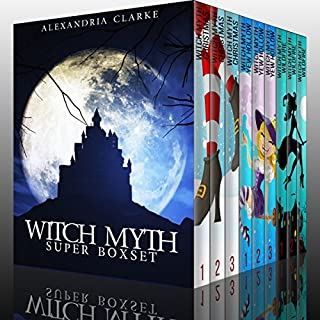 Witch Myth Super Boxset audiobook cover art
