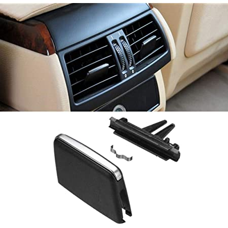Pack of 3 Black Car Front A//C Air Conditioning Vent Outlet Tab Clip 06-13 BMW X5 E70 X6 E71