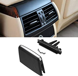 For BMW X5/X6 Air Vent Tab, Jaronx Upgraded Front Row Fresh Air Grille Clips Air Conditioning Vent Outlet Tab Clip (For BMW X5 E70 2006-2012, X6 E71 2008-2013) (Rear Row)