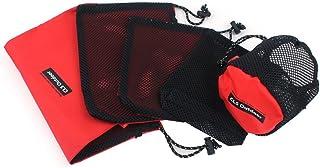 Jieshkouon Travel Packing 5-Piece Sleeve Mesh Design Outdoor Camping Storage Bag