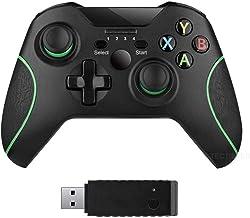 xuelili Controles sem fio para Xbox One, gamepad sem fio para PC com adaptador sem fio de 2,4 GHz, compatível com Xbox One...