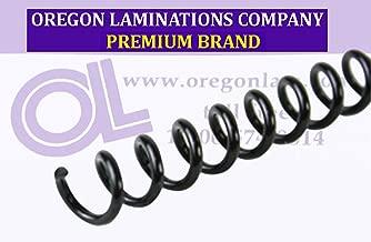 Spiral Binding Coils 6mm (¼ x 15-inch Legal) 4:1 [pk of 100] Black