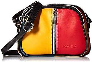 Kleine Handtasche aus echtem Leder für Damen handgefertigt in Italien