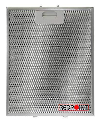 Filter Aluminium für Abzugshauben ELICA mm.260 x 320 x 9 anpassbar: A.E.G/NEFF/BAUMATIC/HOTPOINT/INDESIT/ELICA/TEKA