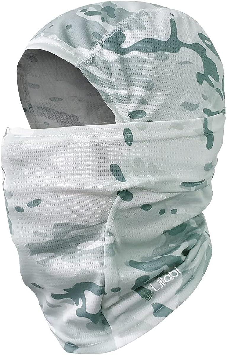 Lillabi Face Masks Balaclava with Logo & UV Protection for Men Women.