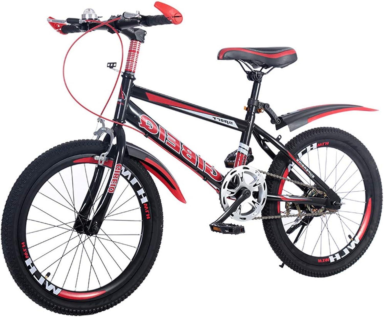envio rapido a ti SJSF Y Bicicleta Infantil con Ruedas de 18 20 22 22 22 , Bicicleta para Niños con estabilizadores, Rueda de 18 Pulgadas, Rojo,18   tienda