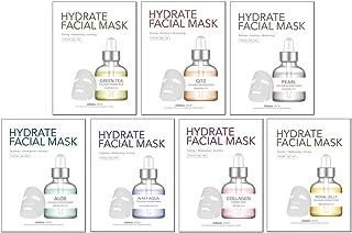 Dermal Korea Collagen Essence Full Face 7 Day Mask Care Hydrate Facial Mask 1 Box [1 Sheet (25 g) X 7 ea]