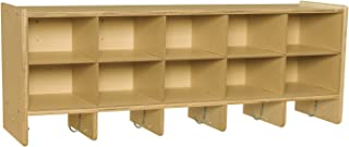 Best wall cubby with hooks Reviews