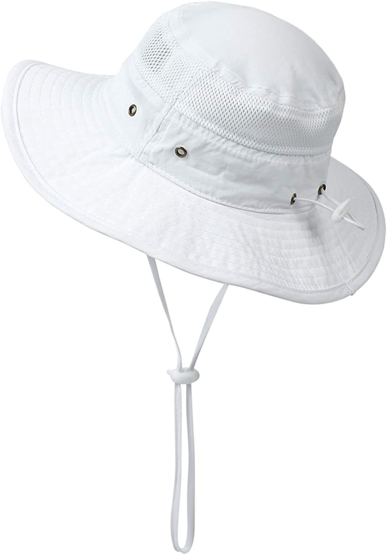 Muryobao Toddler Child Kids Sun Hat Summer UV Protection Hats Bucket Cap for Beach Fishing