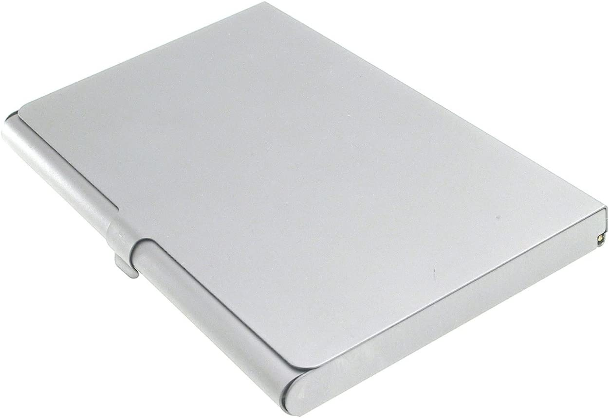 Business Name Case Card Holder Aluminum Assorted Colors