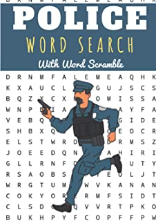Police Word Search: 60 puzzles | Challenging Puzzle Book For Adults, Kids, Seniors | More than 400 Law, Order and Justice ...
