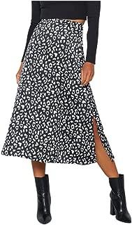 Gr/ö/ße 36-42 Damen Leopard Drucken Bodycon Mini Kurz Rock Tier Elastisch Skirt WearAll