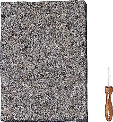 Knorr prandell 211701100 Prickelset (für Durchstecharbeiten, Prickelunterlage 25 x 18 cm, 7 mm stark inklusive Prickelnadel)