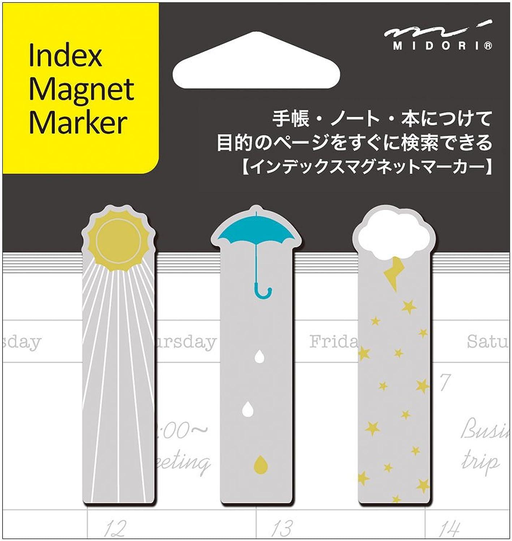 Midori Magnet Index Marker, Wetter Symbole (43127006) B00FJU0SN0 | Am wirtschaftlichsten
