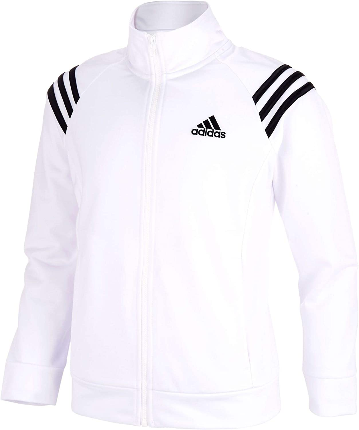 adidas Girls Event Full Zip Tricot Sports Jackets with Side Pockets