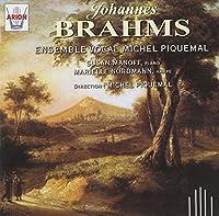 Brahms: Ensemble Vocal Michel Piquemal Quatuors Pour Choeur