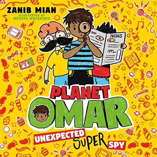 Unexpected Super Spy audiobook cover art