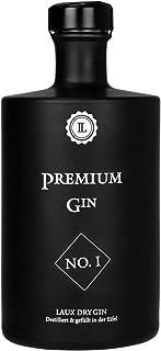 LAUX Premium Gin 45% Vol, Dry Gin mit erfrischender Zitrusnote, 500ml