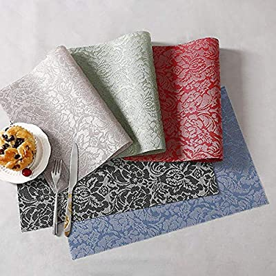 Kitchen,dining & Bar Home & Garden Household Kitchen Simple Placemat Pvc Non-slip Insulation Bowl Mat Plate Dishes Western Table Mat Table Decoration & Accessories
