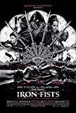 The Man with The Iron Fists Poster on Silk/Silk