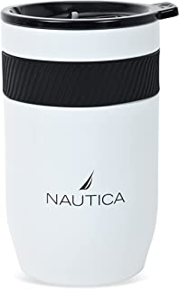 12oz White Berth Stainless Steel Triple-Layered Hydration Vacuum-Insulated Water Bottle