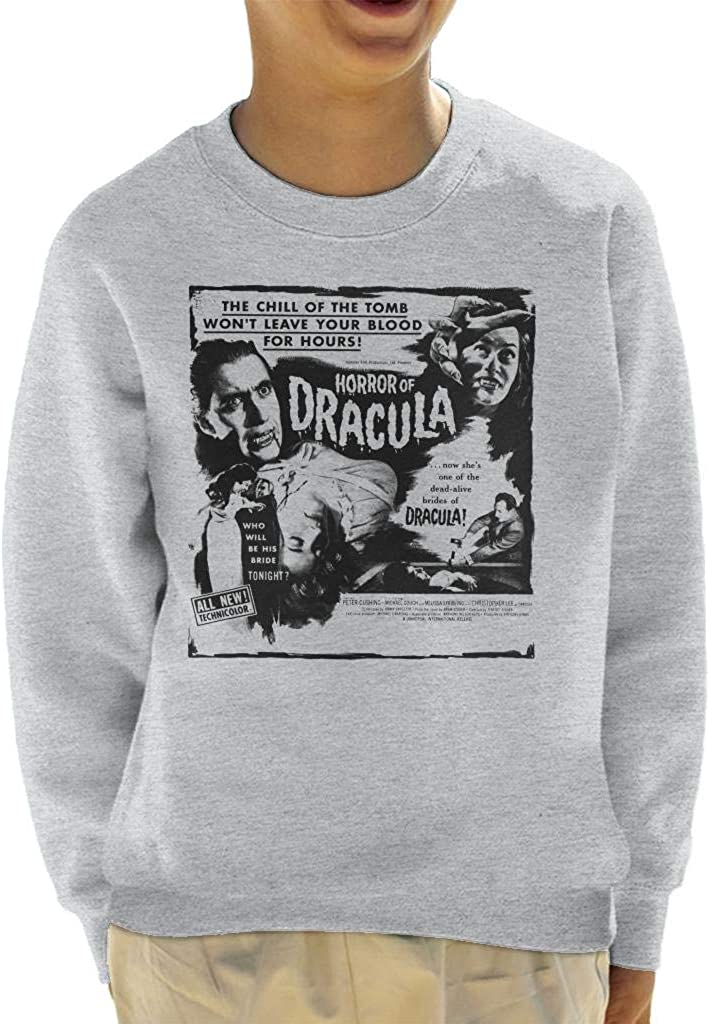 Hammer Horror Films Dracula Chill Of Tomb Quote Portland Mall The Indefinitely Sweats Kid's