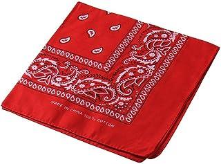 Pañuelo para la cabeza multifuncional estilo retro con estampado de cachemira; también se puede usar como diadema, velo, máscara para montar en bicicleta.