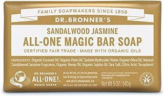ドクターブロナー マジックソープバー SA(サンダルウッド&ジャスミン) オーガニック固形せっけん
