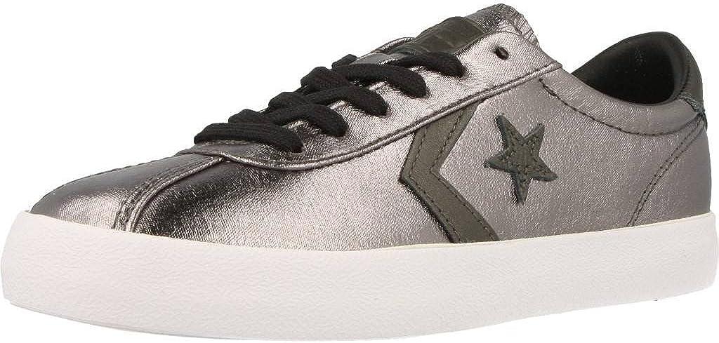 Converse Womens Breakpoint Metallic Canvas Low Top Sneaker