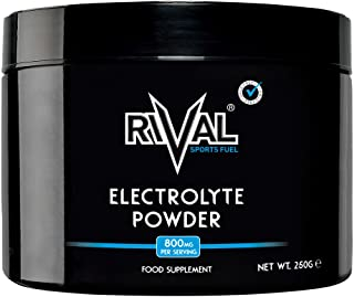 Rival Sports Fuel Electrolyte Powder 250g Unflavoured Sugar