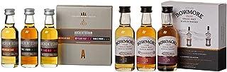 Auchentoshan  Bowmore Whisky Miniaturen Probier-Set 12, 15, 18 Jahre 6 x 0.05 l