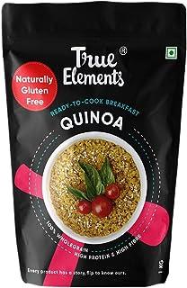 True Elements Quinoa 1kg - Breakfast Cereal, Diet Food, Gluten Free Quinoa