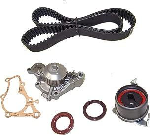 DNJ TBK119WP Timing Belt Kit with Water Pump for 1992-1996 / Eagle, Mitsubishi, Plymouth/Colt, Expo LRV, Mirage, Summit / 1.8L / SOHC / L4 / 16V / 112cid / 4G93 / VIN C, VIN D