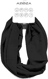 Multifunktionstuch Herren Damen Halstuch Schlauchtuch Outdoor Motorrad Fahrrad Schlauchschal Schlauch Tuch Schal (schwarz)