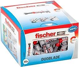 fischer DUOBLADE, zelfborende gipsplaatplug, sterke pluggen voor eenvoudige montage in gipskarton- en gipsvezelplaten, met...