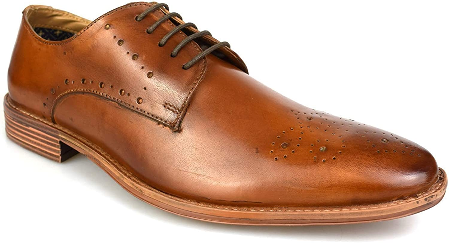 Catesby Men's Mark Brogue Lace-Up Leather shoes 1830T