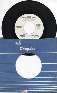 Claudja Barry: Boogie Woogie Dancin' Shoes (Stereo Version) B/w Boogie Woogie Dancin' Shoes (Mono Version)